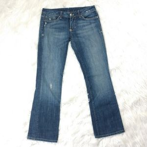 People's liberation tanya boot cut jeans